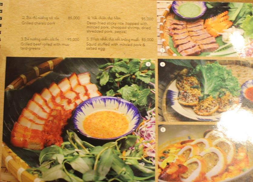 Menu Rice Field – Homecooked Vietnamese Cuisine 11
