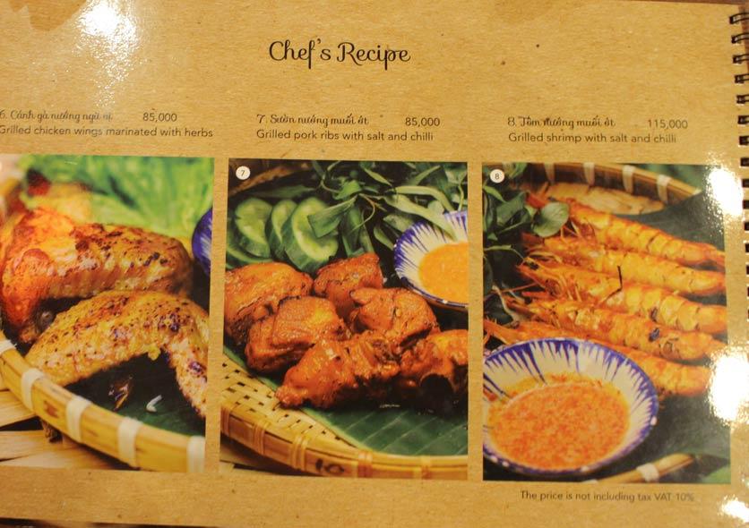 Menu Rice Field – Homecooked Vietnamese Cuisine 12