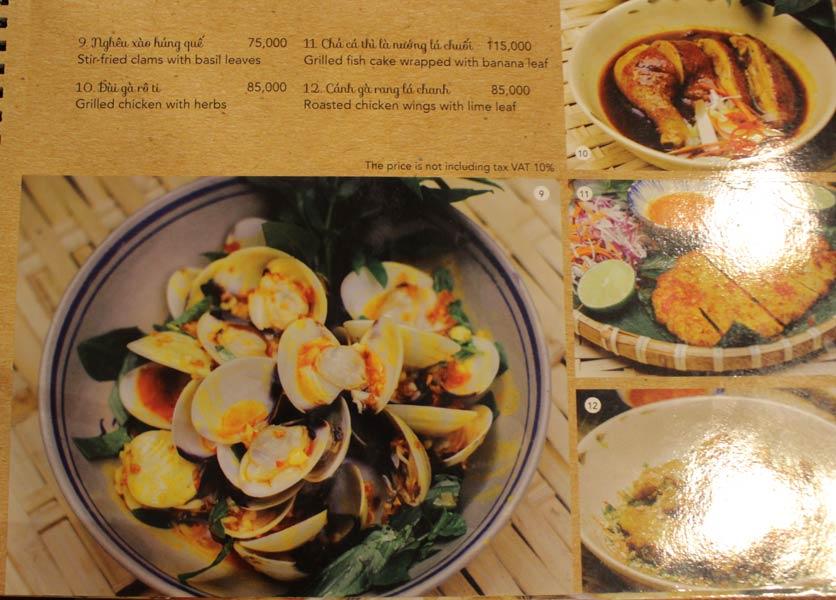 Menu Rice Field – Homecooked Vietnamese Cuisine 13