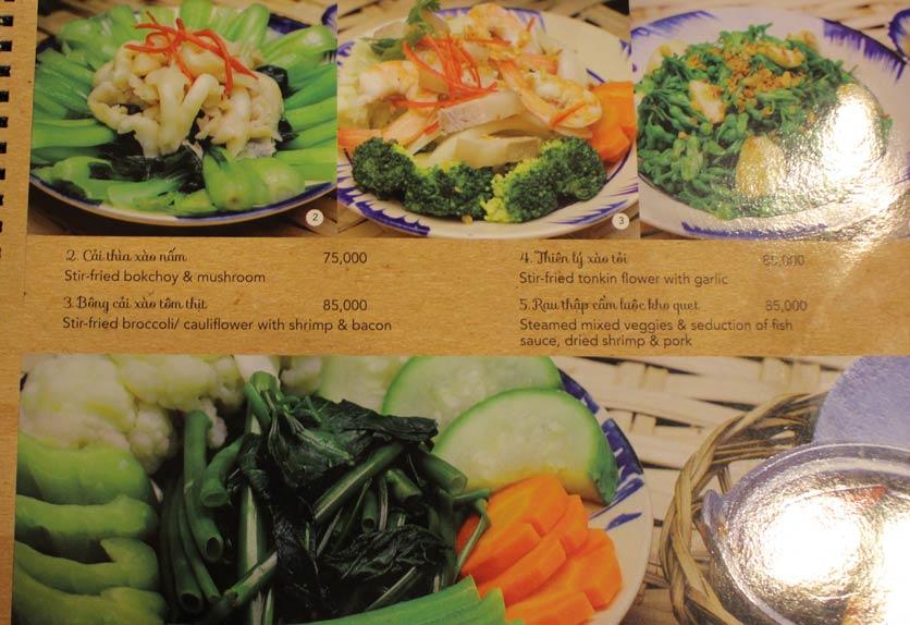 Menu Rice Field – Homecooked Vietnamese Cuisine 24