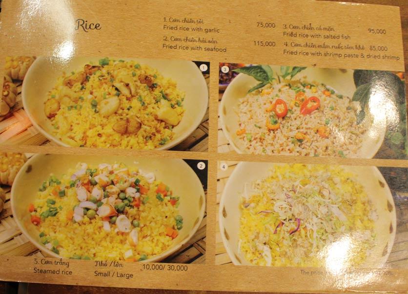 Menu Rice Field – Homecooked Vietnamese Cuisine 31