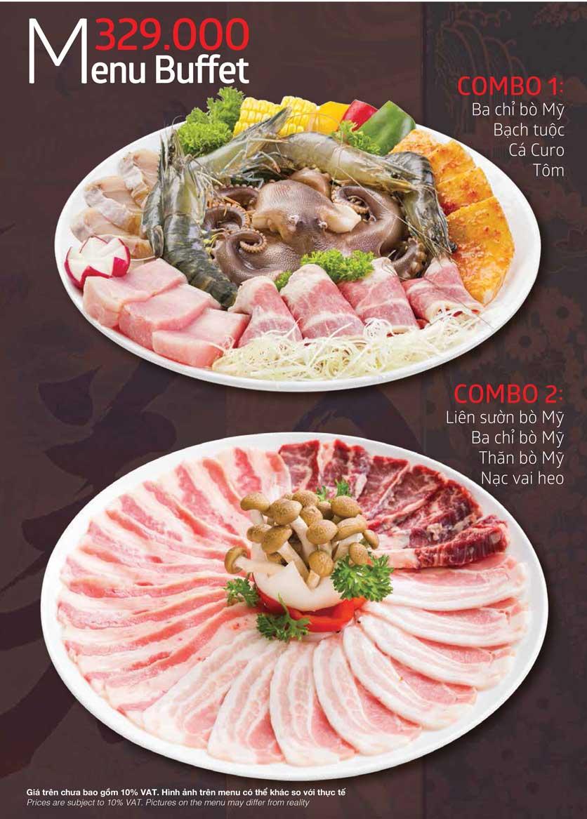 Menu Samurai BBQ - Âu Cơ  6
