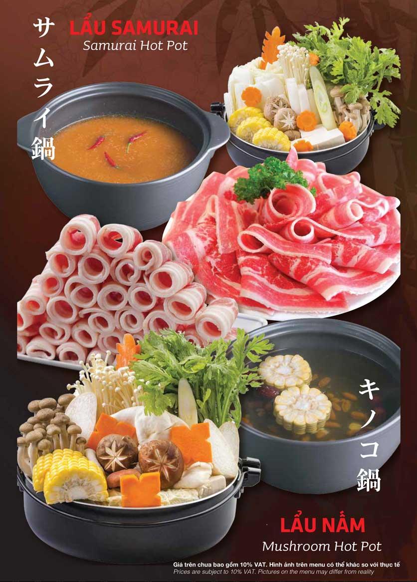 Menu Samurai BBQ - Âu Cơ  23