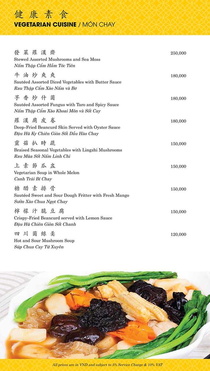 Menu Shang Palace - Lý Tự Trọng 16