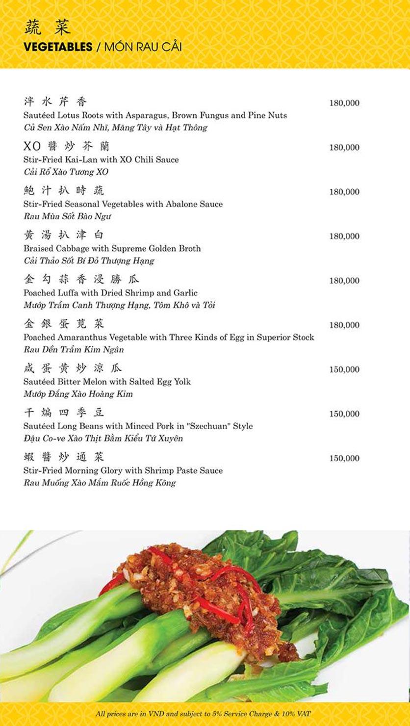 Menu Shang Palace - Lý Tự Trọng 17