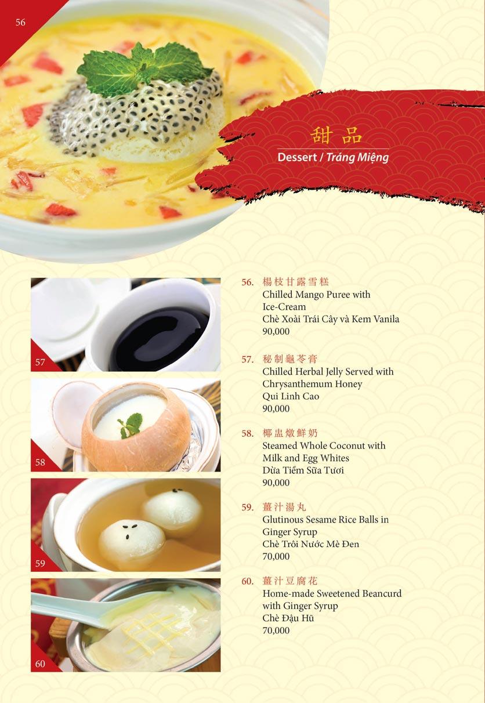 Menu Shang Palace - Lý Tự Trọng 29