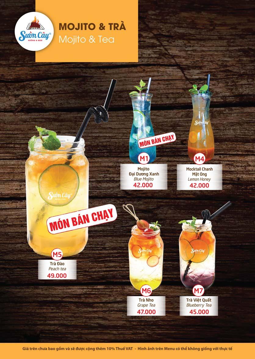 Menu Sườn Cây Nướng & Beer – Quang Trung 21