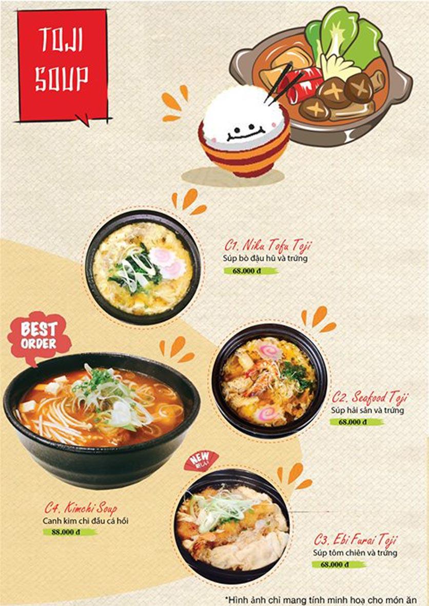 Menu Sushi Ba Con Sóc - Hoa Lan 24
