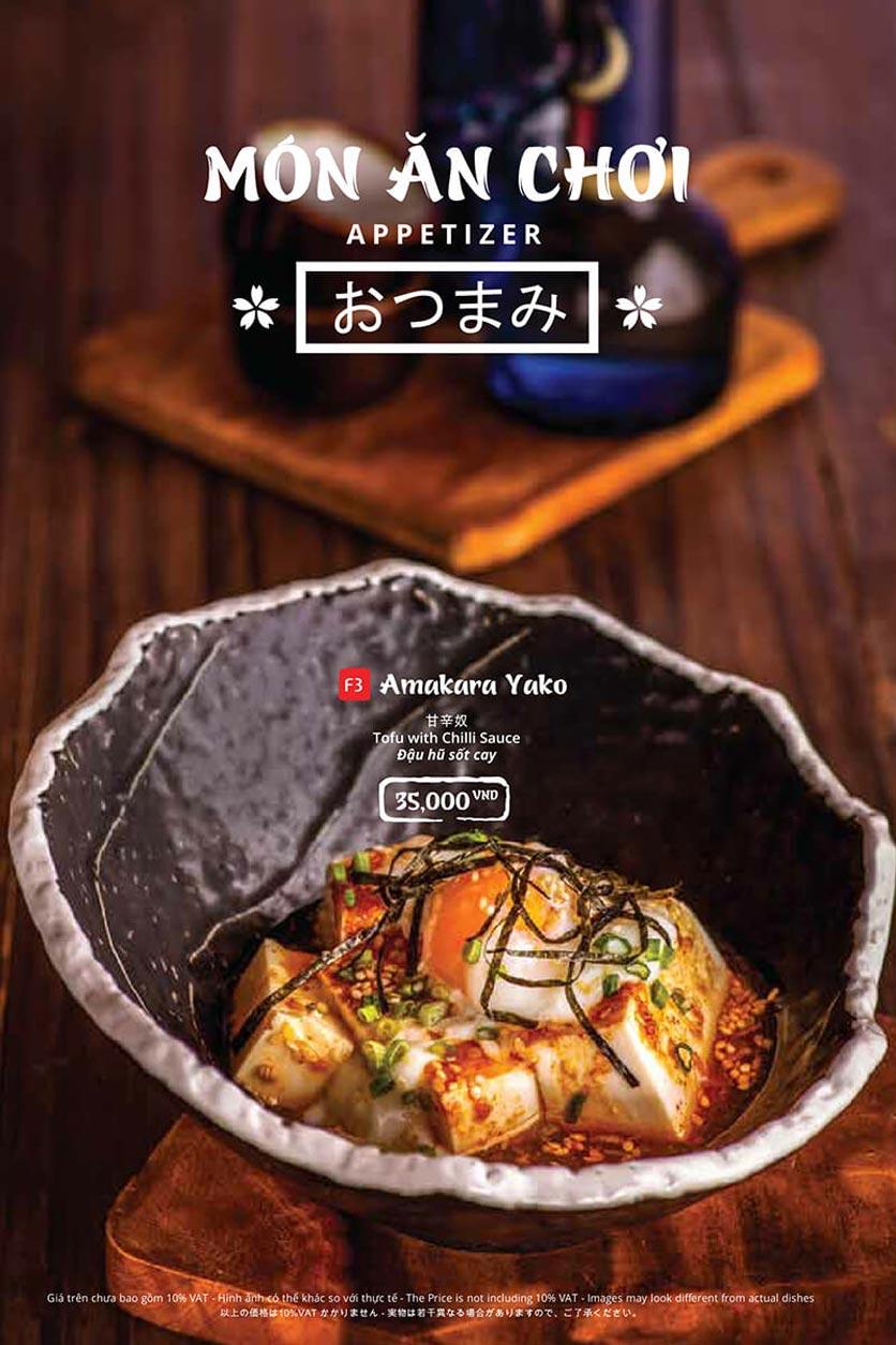 Menu Tasaki BBQ - Trần Thái Tông 4