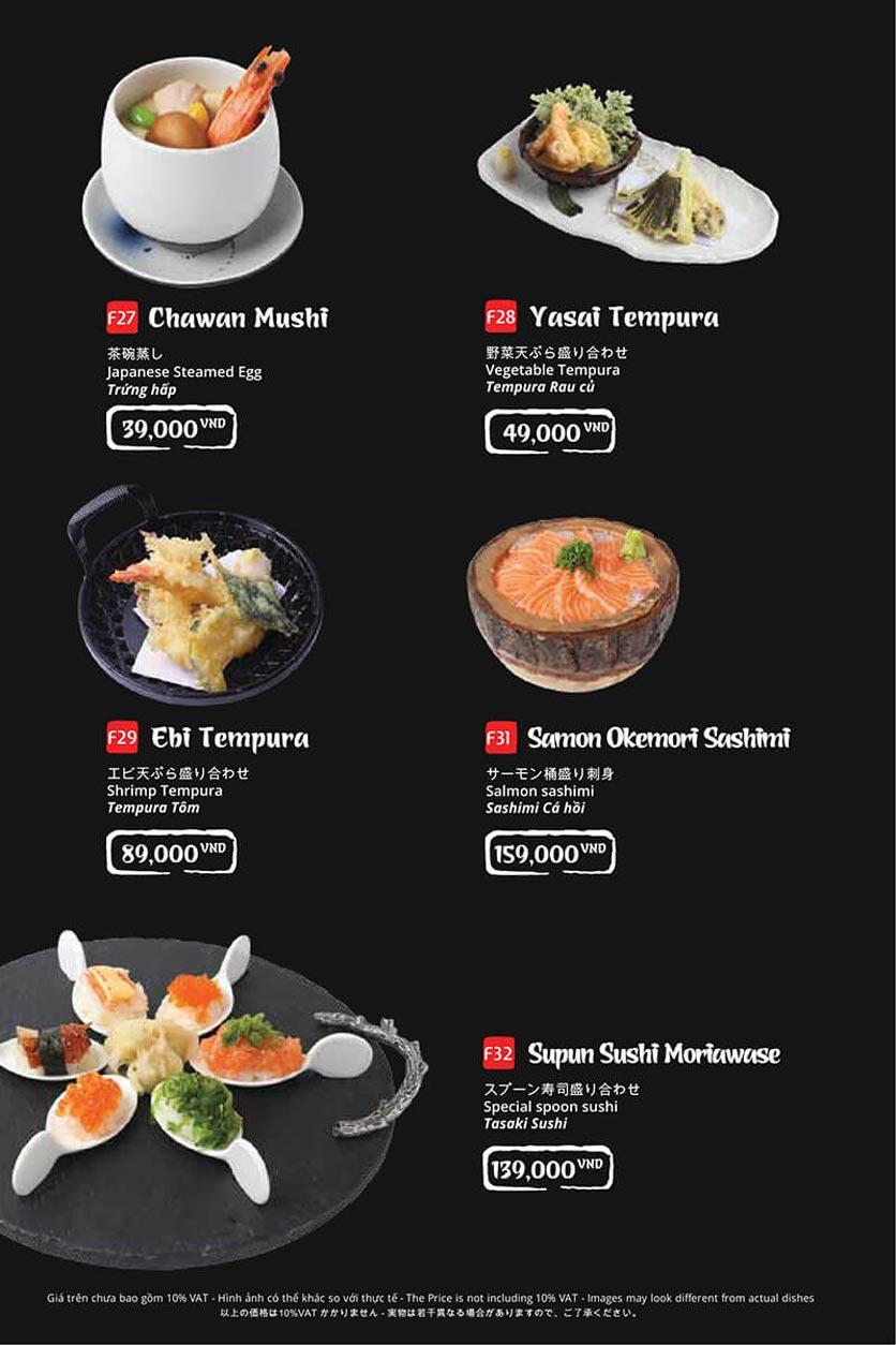 Menu Tasaki BBQ - Bùi Thị Xuân 10