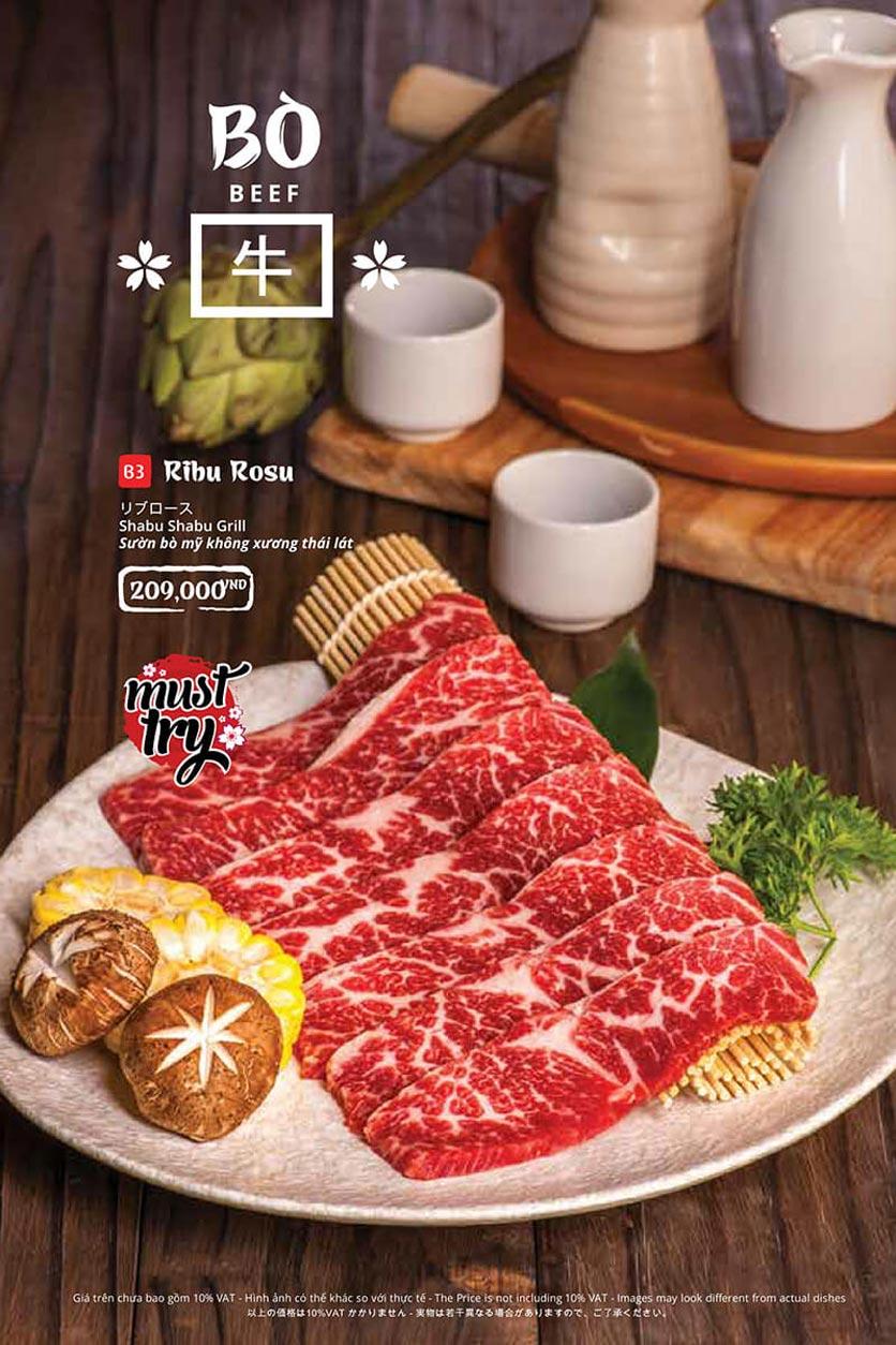 Menu Tasaki BBQ - Bùi Thị Xuân 13