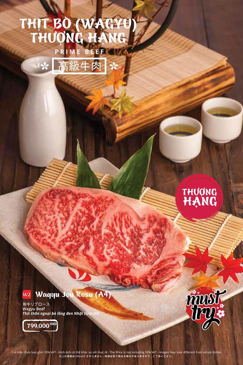 Menu Tasaki BBQ - Bùi Thị Xuân 23