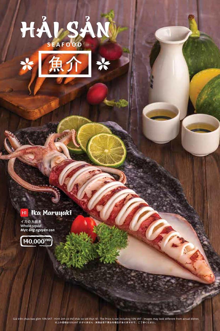 Menu Tasaki BBQ - Trần Thái Tông 27