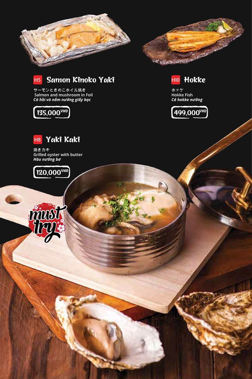 Menu Tasaki BBQ - Trần Thái Tông 28