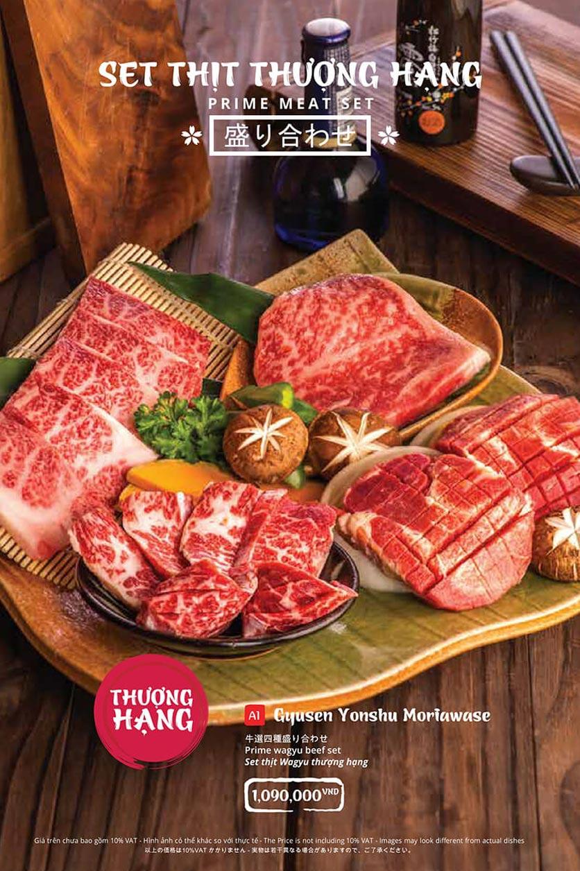 Menu Tasaki BBQ - Trần Thái Tông 29
