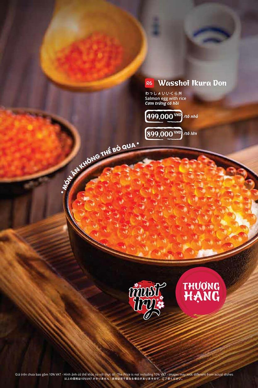Menu Tasaki BBQ - Trần Thái Tông 34