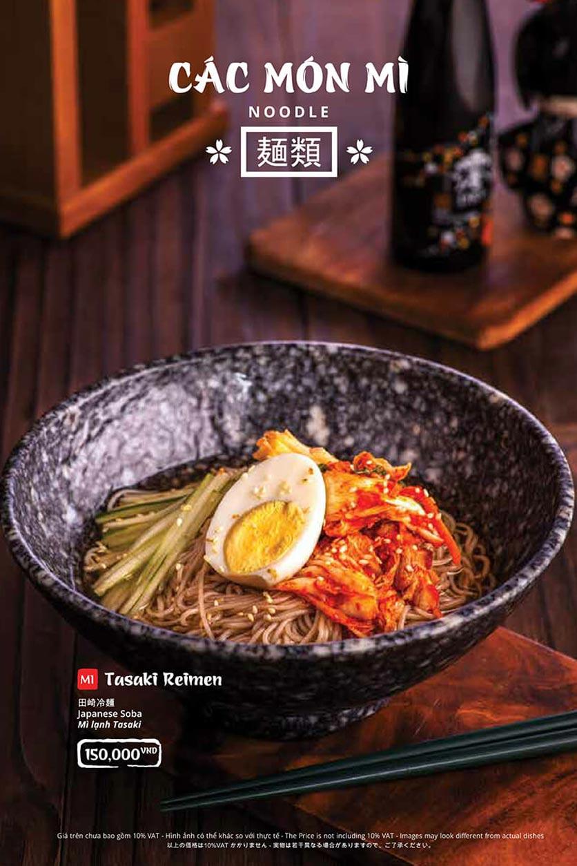 Menu Tasaki BBQ - Trần Thái Tông 35