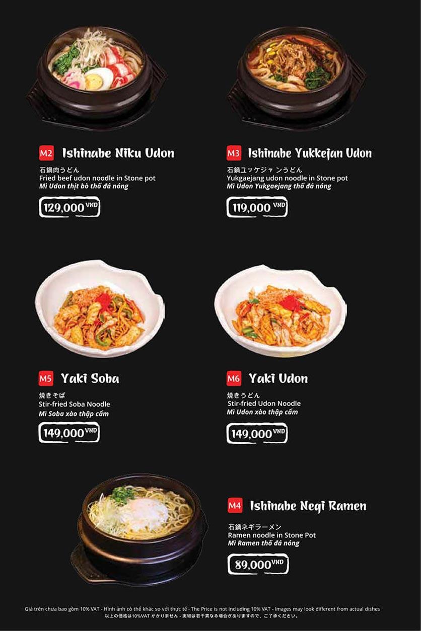 Menu Tasaki BBQ - Bùi Thị Xuân 36