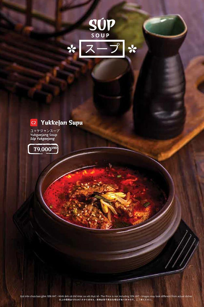 Menu Tasaki BBQ - Trần Thái Tông 37