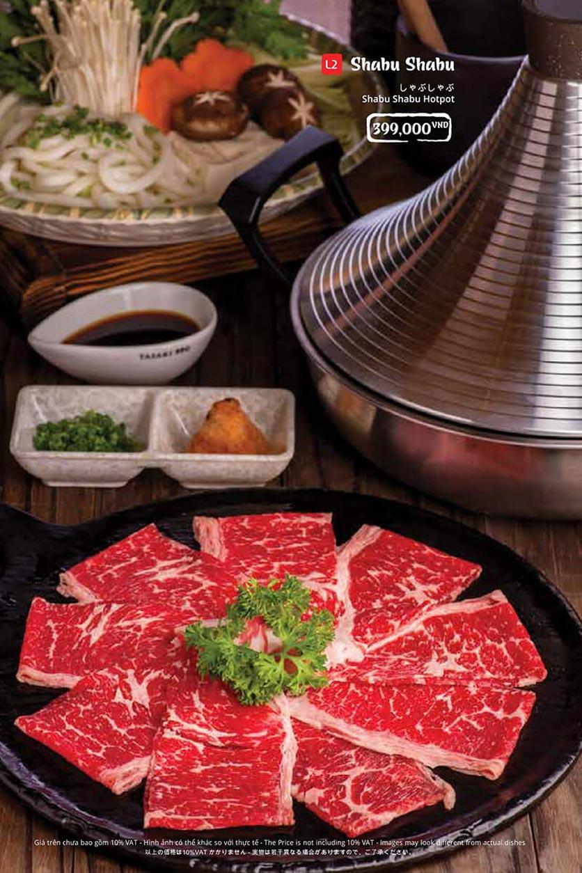 Menu Tasaki BBQ - Trần Thái Tông 40