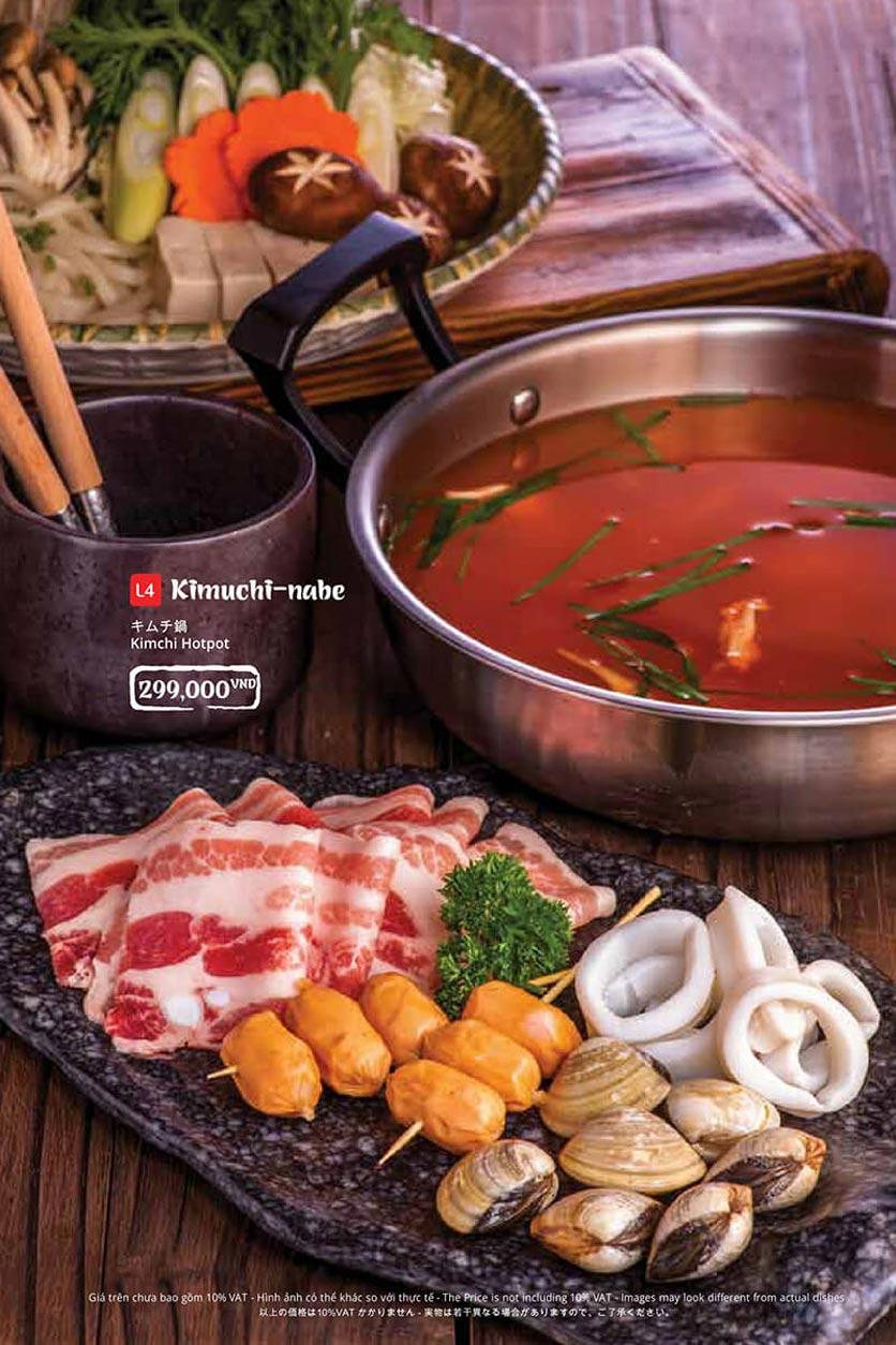 Menu Tasaki BBQ - Trần Thái Tông 41