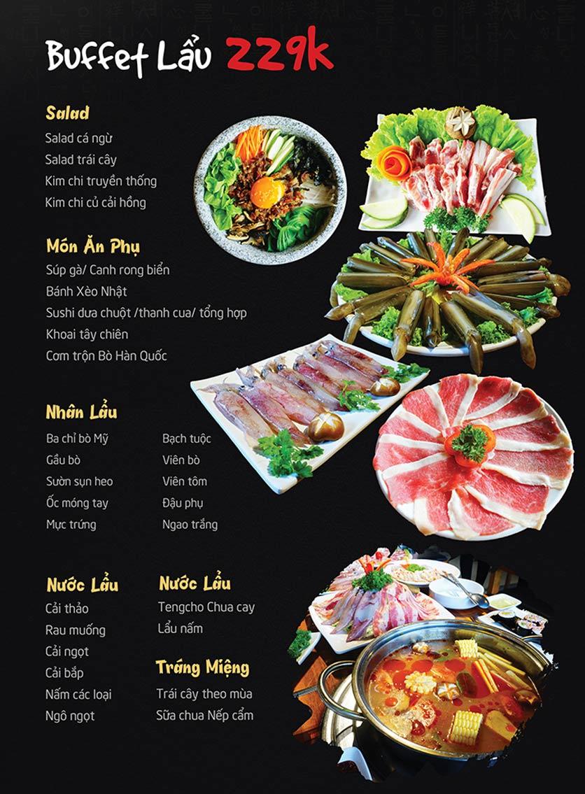 Menu Tengcho BBQ – Linh Đàm 5