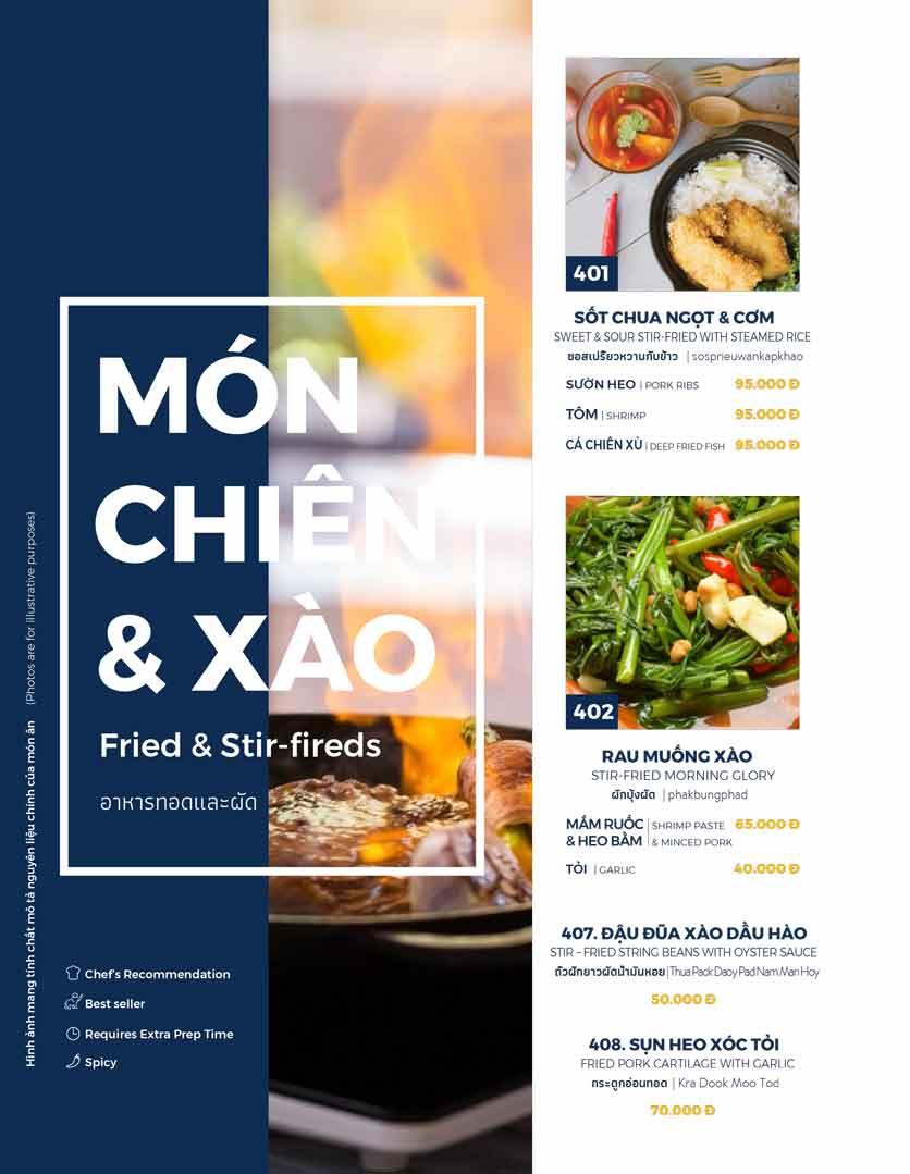 Menu Thai Market - Trần Quốc Toản 7