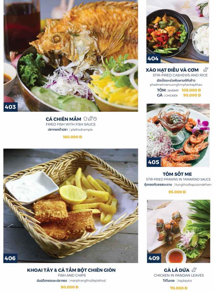 Menu Thai Market - Trần Quốc Toản 8