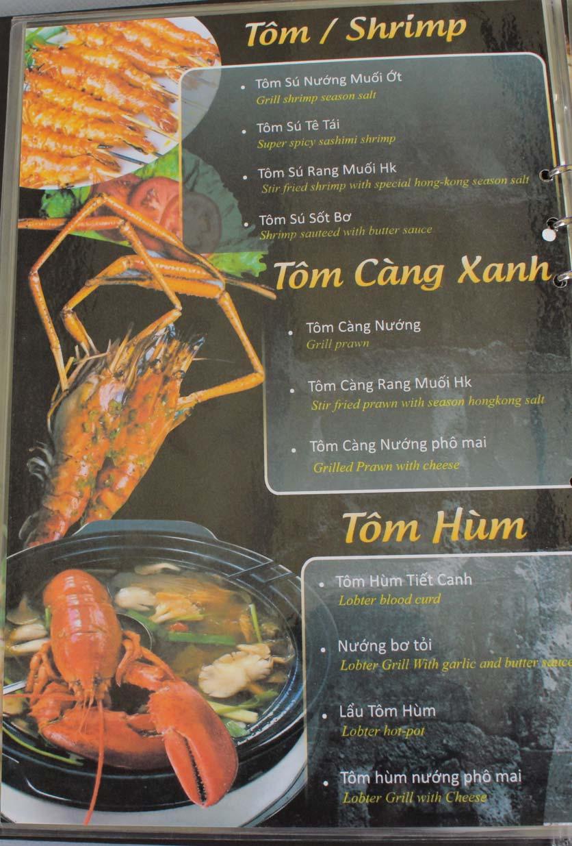 Menu Xiên Khè - Đồng Nai  8
