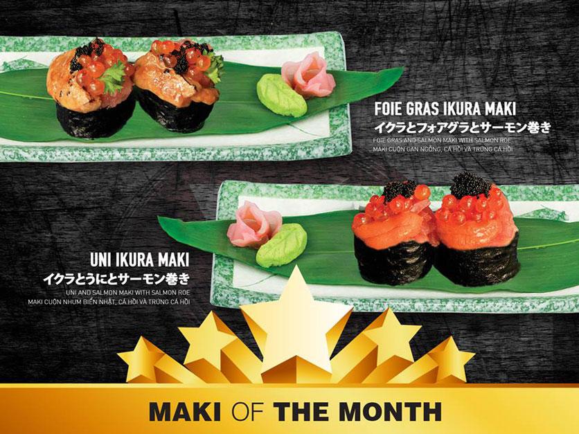 Menu Yen Sushi & Sake Pub – Nguyễn Đức Cảnh 4