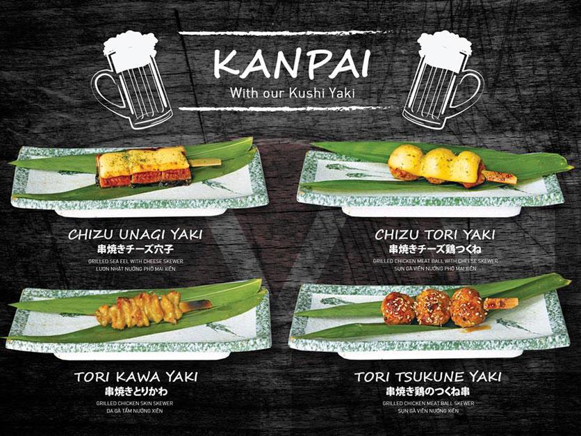 Menu Yen Sushi & Sake Pub – Nguyễn Đức Cảnh 6