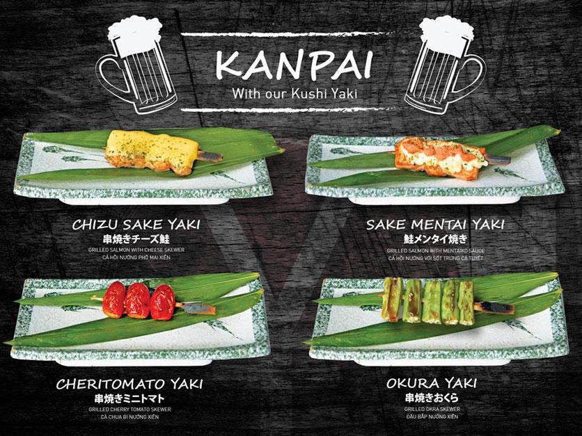 Menu Yen Sushi & Sake Pub – Nguyễn Đức Cảnh 7