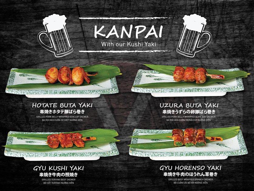 Menu Yen Sushi & Sake Pub – Nguyễn Đức Cảnh 8