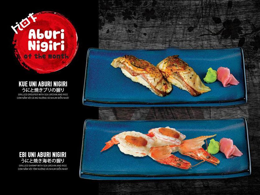 Menu Yen Sushi & Sake Pub – Nguyễn Đức Cảnh 9
