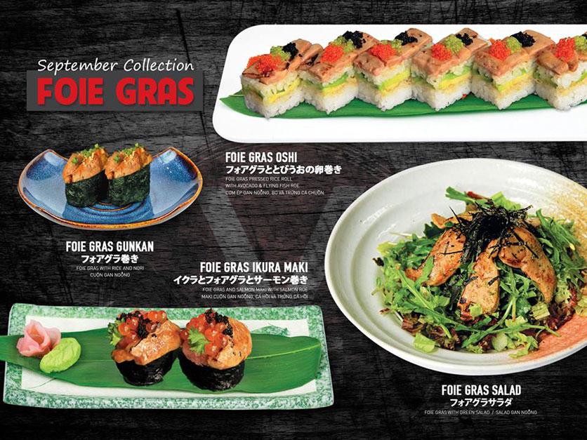 Menu Yen Sushi & Sake Pub – Nguyễn Đức Cảnh 10