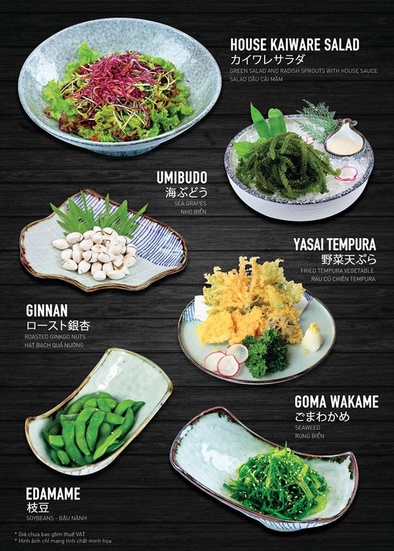 Menu Yen Sushi & Sake Pub – Nguyễn Đức Cảnh 12