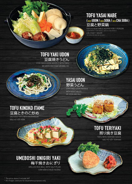 Menu Yen Sushi & Sake Pub – Nguyễn Đức Cảnh 13