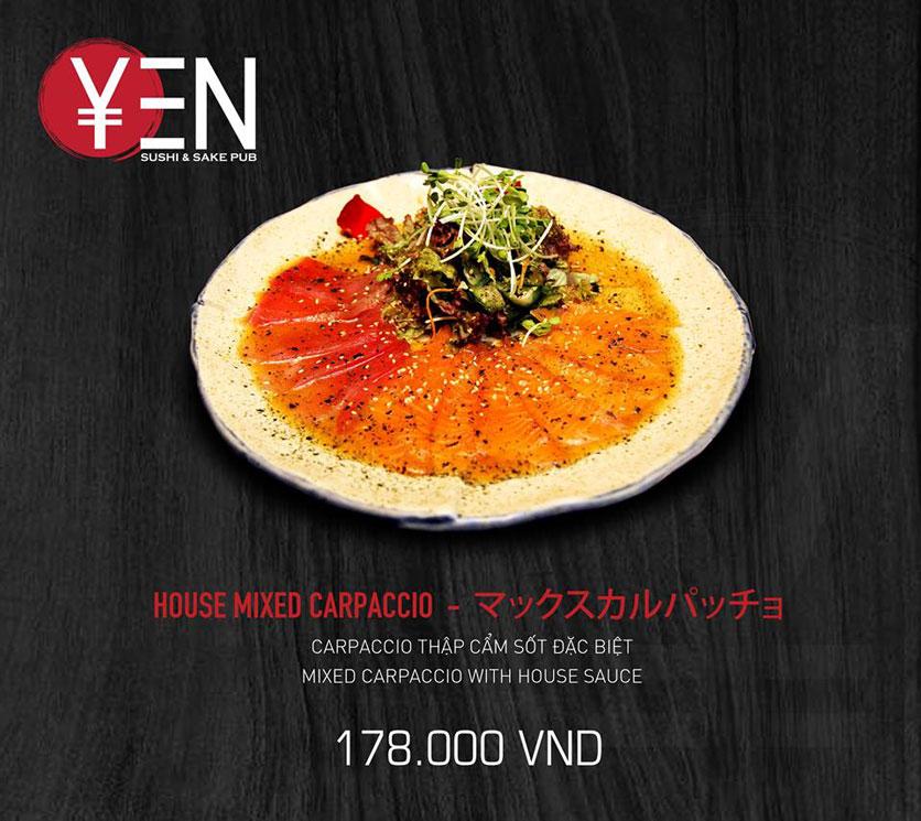 Menu Yen Sushi & Sake Pub – Nguyễn Đức Cảnh 14
