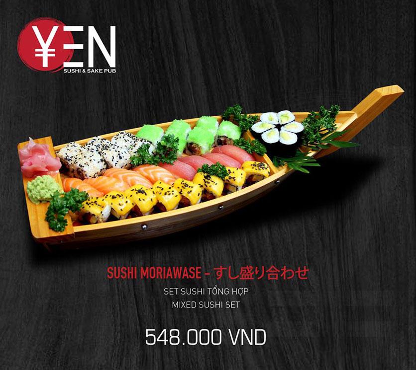 Menu Yen Sushi & Sake Pub – Nguyễn Đức Cảnh 15