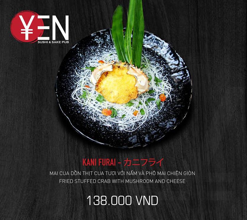 Menu Yen Sushi & Sake Pub – Nguyễn Đức Cảnh 17