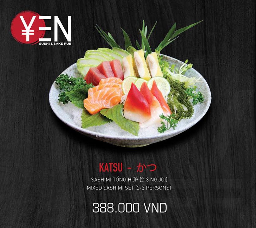 Menu Yen Sushi & Sake Pub – Nguyễn Đức Cảnh 18