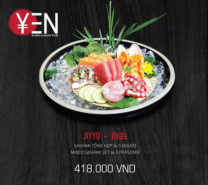 Menu Yen Sushi & Sake Pub – Nguyễn Đức Cảnh 19