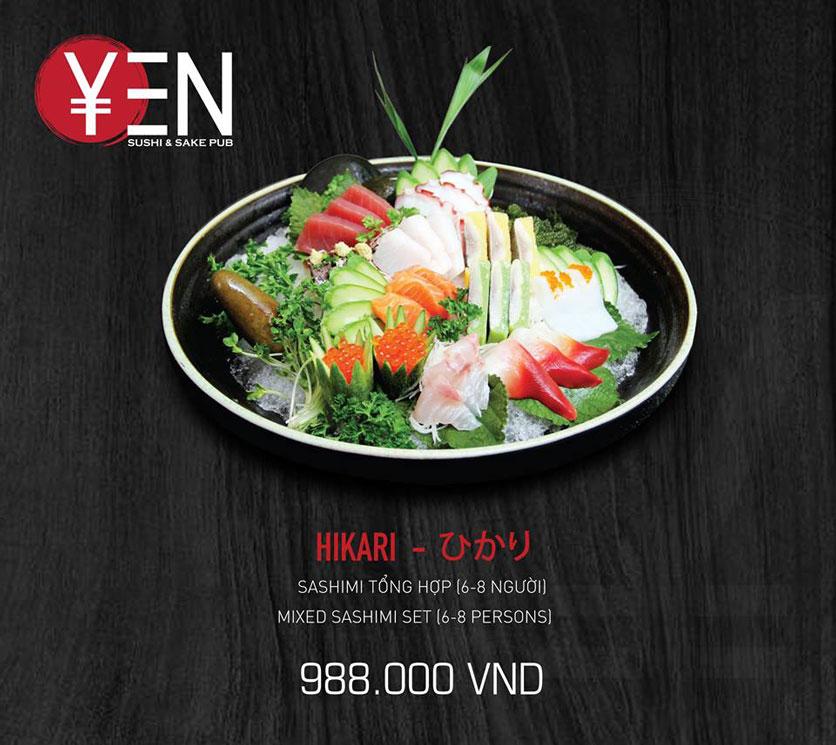Menu Yen Sushi & Sake Pub – Nguyễn Đức Cảnh 20