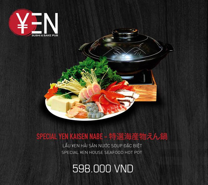 Menu Yen Sushi & Sake Pub – Nguyễn Đức Cảnh 21