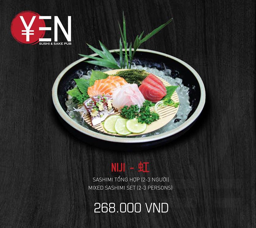 Menu Yen Sushi & Sake Pub – Nguyễn Đức Cảnh 22