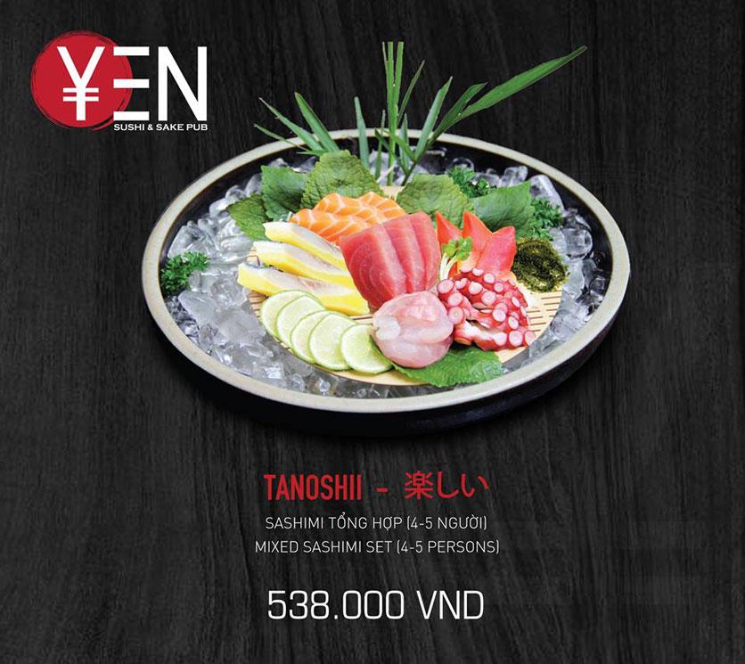 Menu Yen Sushi & Sake Pub – Nguyễn Đức Cảnh 23