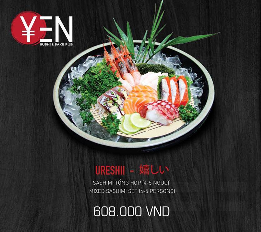 Menu Yen Sushi & Sake Pub – Nguyễn Đức Cảnh 24