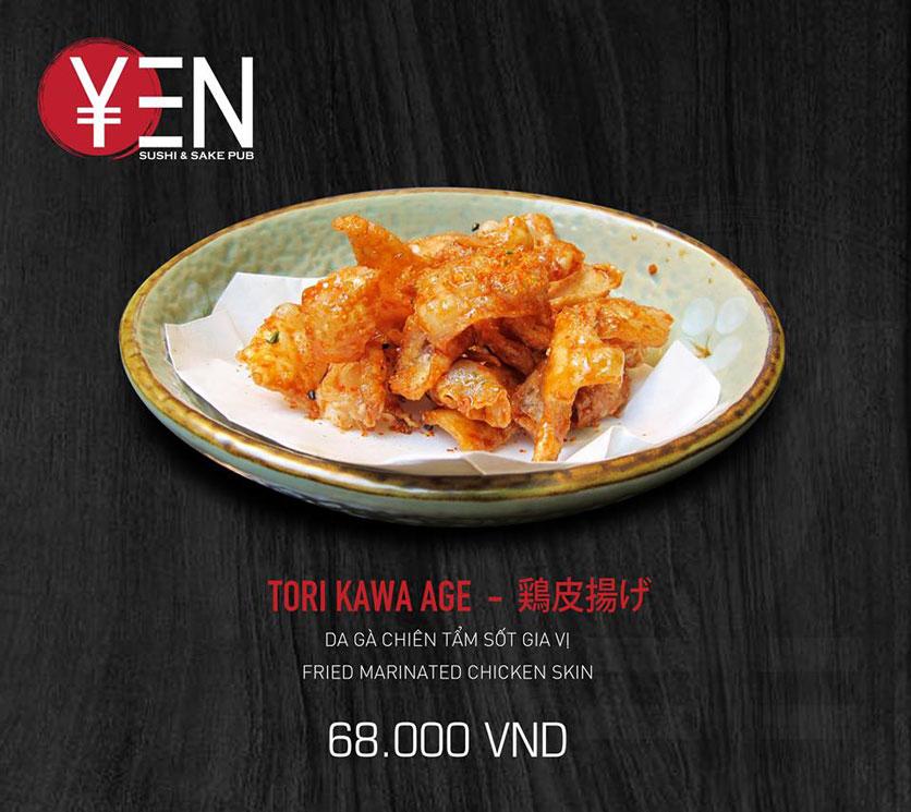 Menu Yen Sushi & Sake Pub – Nguyễn Đức Cảnh 26