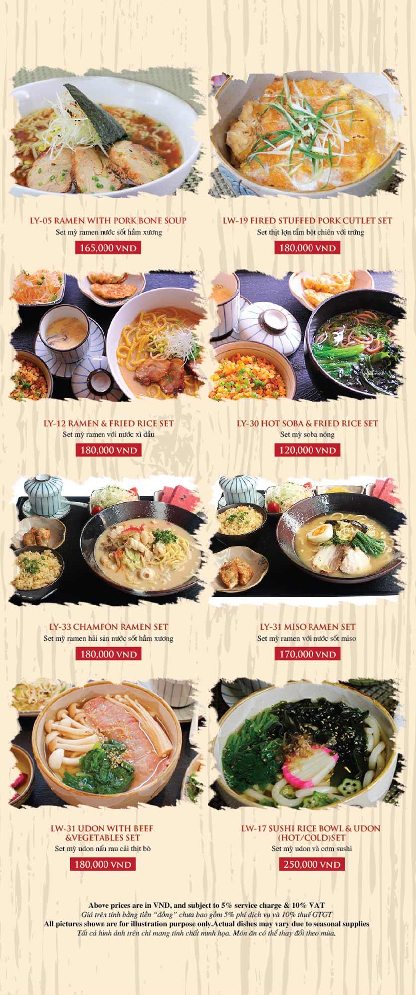 Menu Azuma Japanese Restaurant - Ngọc Khánh 43