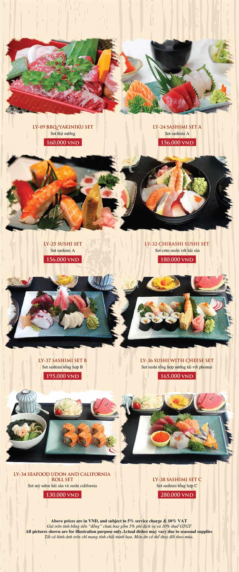 Menu Azuma Japanese Restaurant - Ngọc Khánh 45